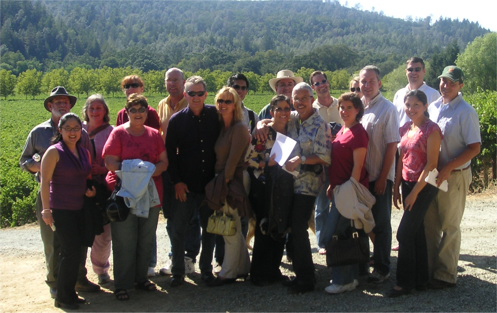 Conn Valley Group Tour 2006