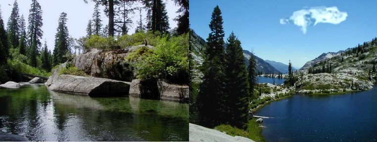 Destinations in the Trinity Alps